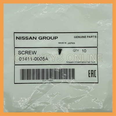 Nissan I-Key Screw (01411-0005A)