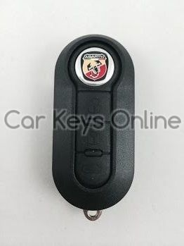 Abarth 3 Button Remote Key (Delphi BSI)