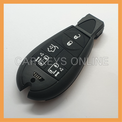 Aftermarket 5 Button Fobik Key Case for Chrysler Grand Voyager