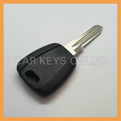 Aftermarket Key Blank for Fiat (GT15R - Black)