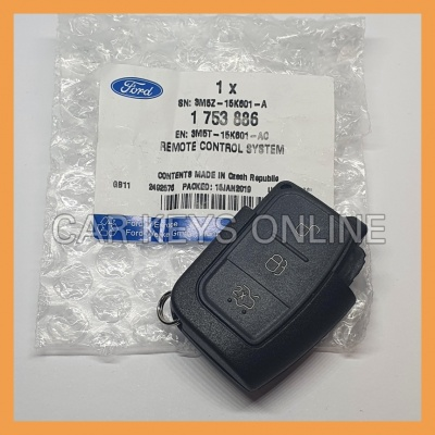 Genuine Ford 3 Button Remote (1753886)