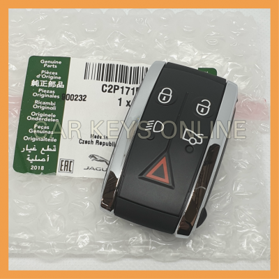 Genuine Jaguar XF / XK Smart Remote Key (C2P17156)