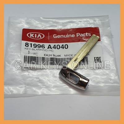 Genuine Kia Smart Remote Key Blade (81996-A4040)