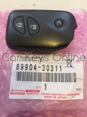 Lexus IS / LS / GS 3 Button Smart Remote (14AAC) (89904-30311)