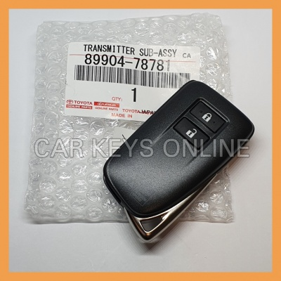 Lexus NX 2 Button Smart Remote (BG1EW) (89904-78781)