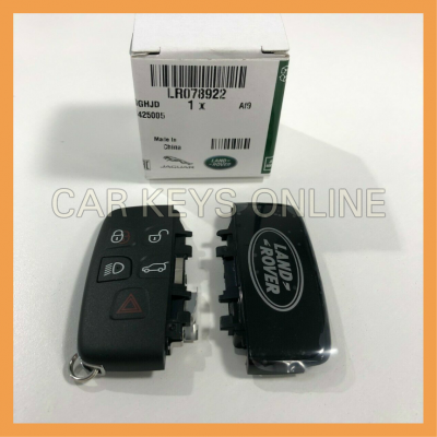 Genuine Land Rover Smart Key Case - Repair Kit (LR078922)