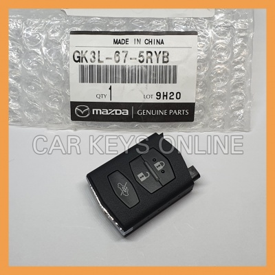 Genuine Mazda 3 / 6 Remote (Visteon 41522) (GK3L-67-5RYC)