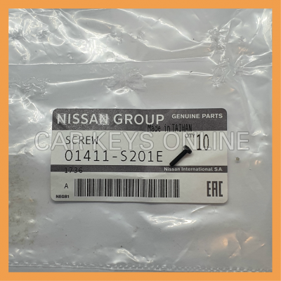 Genuine Nissan Screw (01411-S201E)