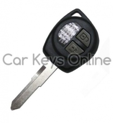 Aftermarket 2 Button Remote Key for Nissan Pixo (2009 - 2013)