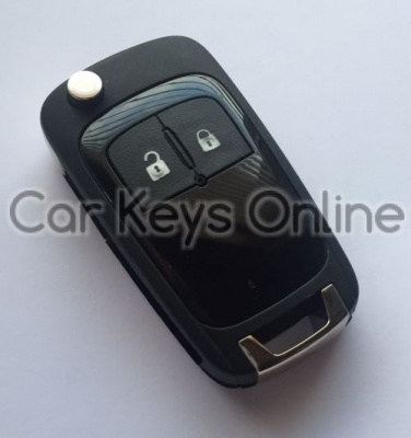 OEM 2 Button Remote Key for Opel Corsa E / Cascade / Karl (13279280) (Gloss Finish)