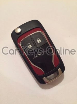 OEM 2 Button Remote Key for Opel Adam (13401827)
