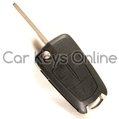OEM 3 Button Remote Key for Opel Vectra C / Signium (93187530) (H Series)