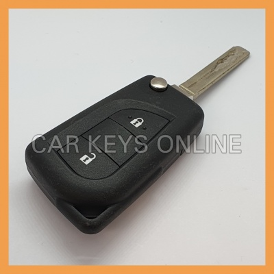 OEM Flip Remote Key for Peugeot 108 (16 124 893 80)