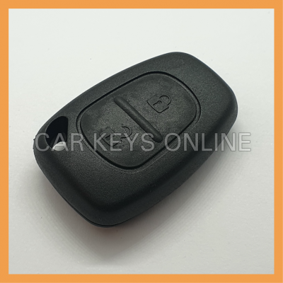 Aftermarket 2 Button Remote Key Case for Renault / Nissan
