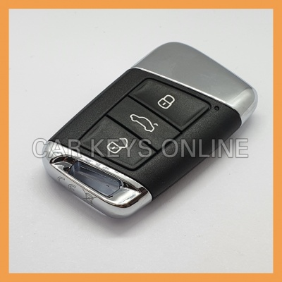 OEM Smart Remote Key for Skoda (Chrome) 3V0 959 752 L ROH