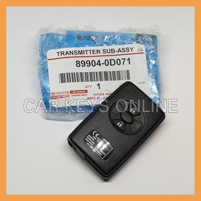Genuine Toyota Yaris Smart Remote (89904-0D071)