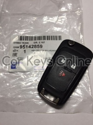 Genuine Chevrolet Spark Remote Key (2013 - 2015)