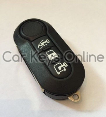 OEM 3 Button Remote Key for Fiat Ducato / Citroen Relay / Peugeot Boxer