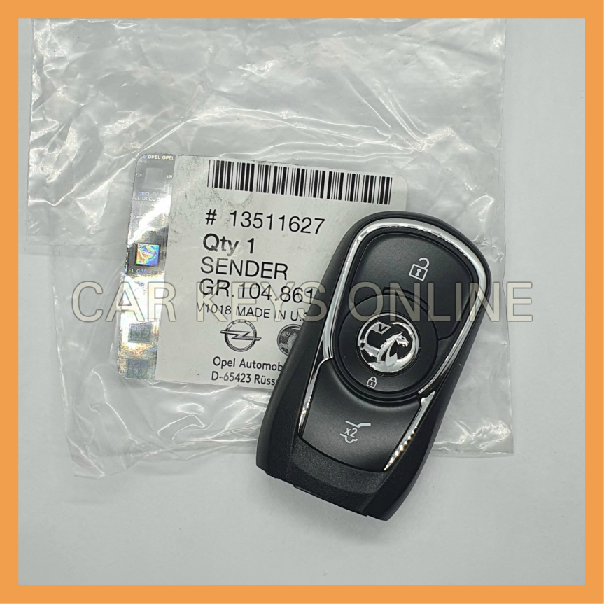 OEM Smart Remote for Vauxhall Insignia B (13511627) 3 Button