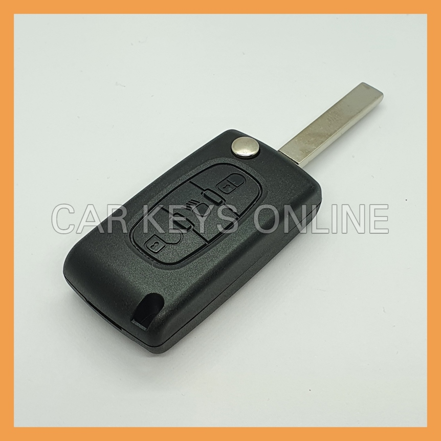 Aftermarket Key Case for Citroen C4 / C6