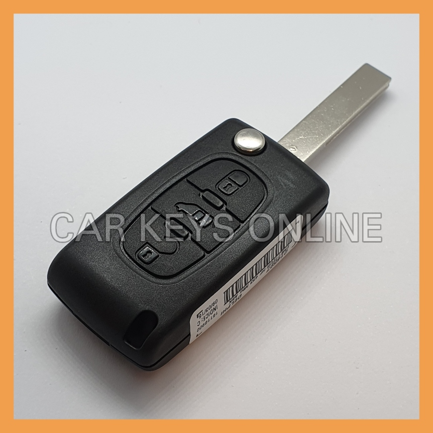 OEM 3 Button Remote Key for Citroen Dispatch (2009 + )