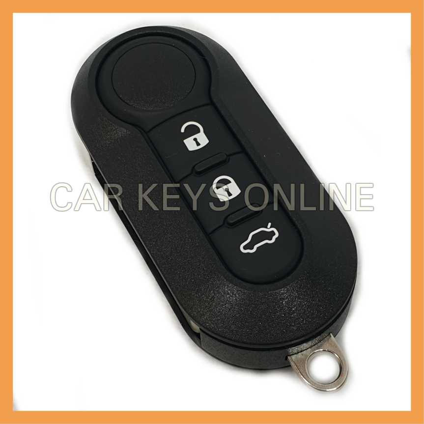 OEM 3 Button Remote Key for Fiat (Marelli)