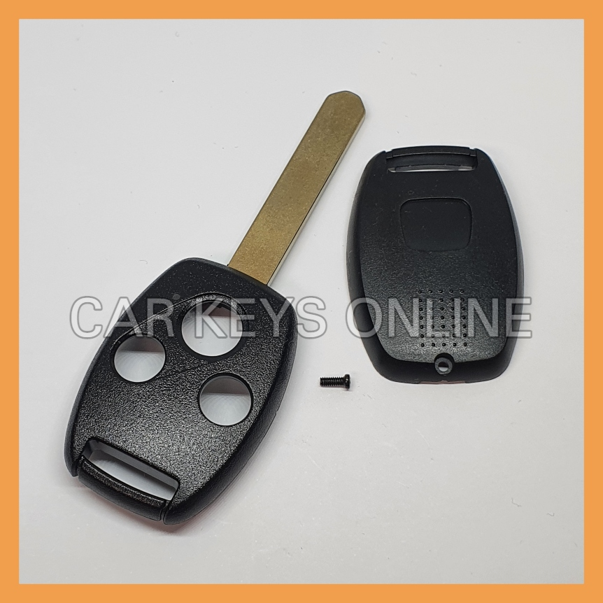 Aftermarket 3 Button Remote Key Case for Honda (HON66 - Without Chip Slot)