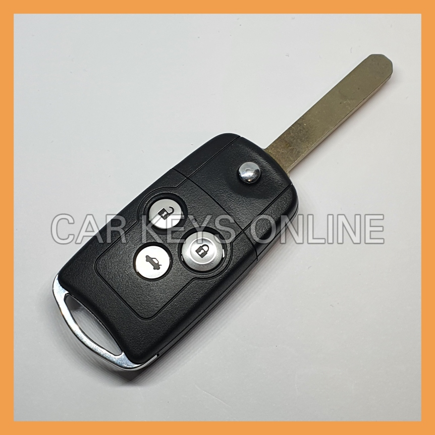 OEM 3 Button Flip Remote Key for Honda Accord / CRV