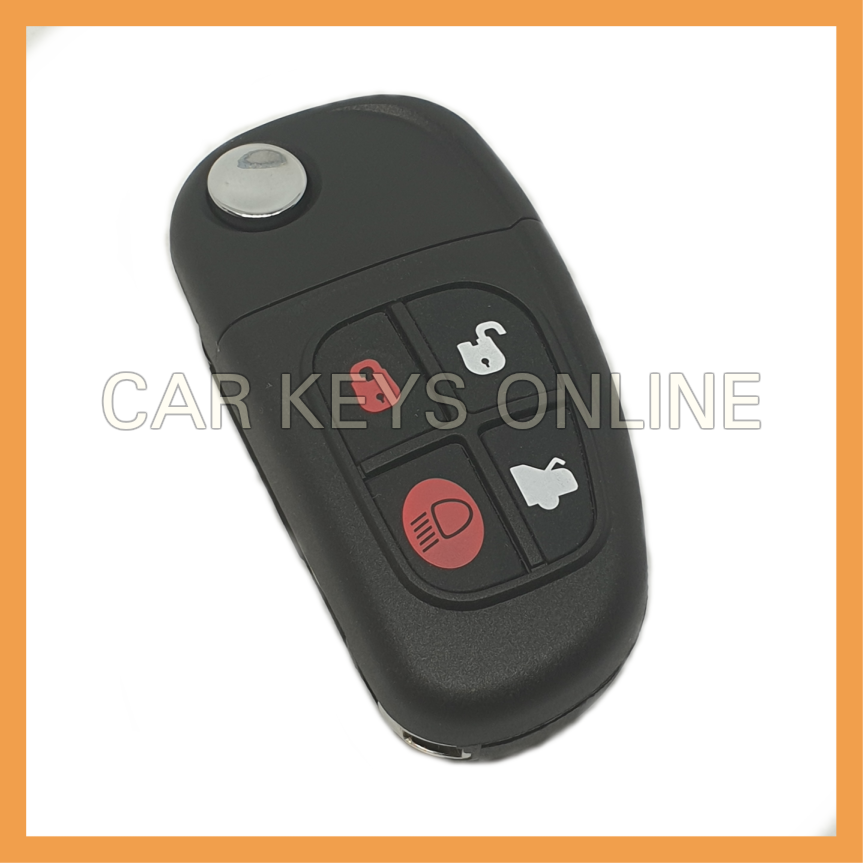 Aftermarket 4 Button Flip Remote Key for Jaguar X-Type / S-Type