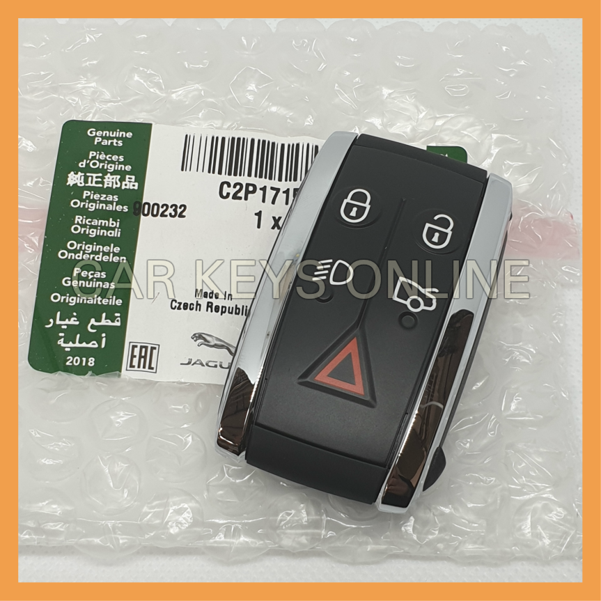 Genuine Jaguar XK Smart Remote Key (C2P17153)