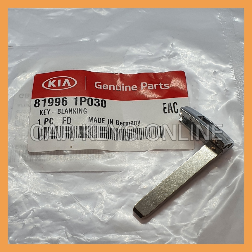 Genuine Kia Remote Key Blade (81996-1P030)