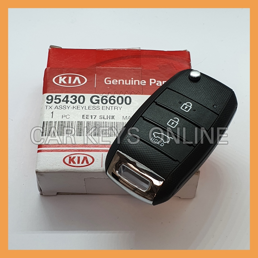 Genuine Kia Picanto Remote Key (2017 + ) 95430-G6600
