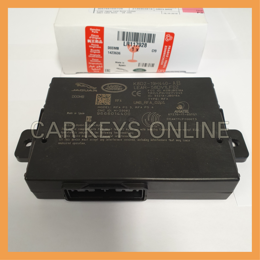Genuine Jaguar E-Pace KVM (RFA Module) - Without Passive Entry (J9C2796)