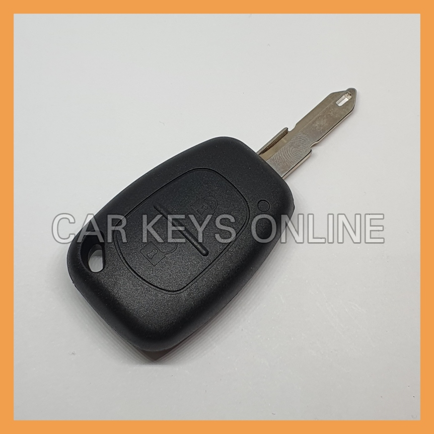 Aftermarket 2 Button Remote Key for Nissan Primastar / Interstar