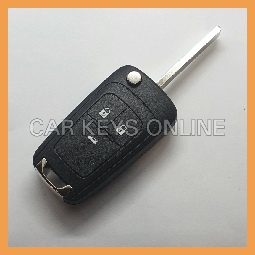 Aftermarket 3 Button Remote Key for Opel Astra J / Insignia