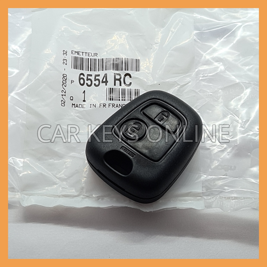Peugeot 307 Remote Fob (6554 RC)