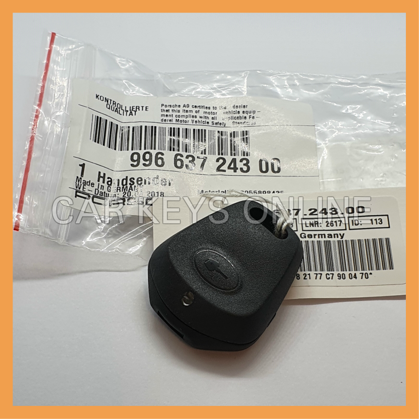 Genuine Porsche 996 1 Button Remote Key (99663724300)