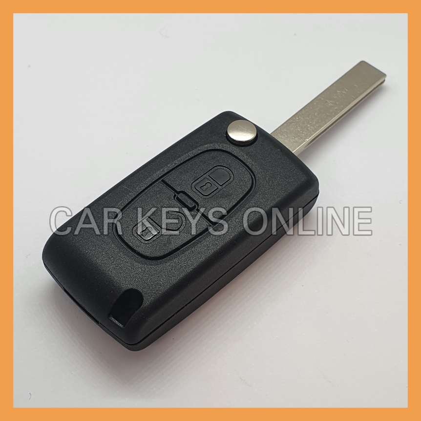 Aftermarket 2 Button Remote Key for PSA (6490EE / 649089 / 649091)
