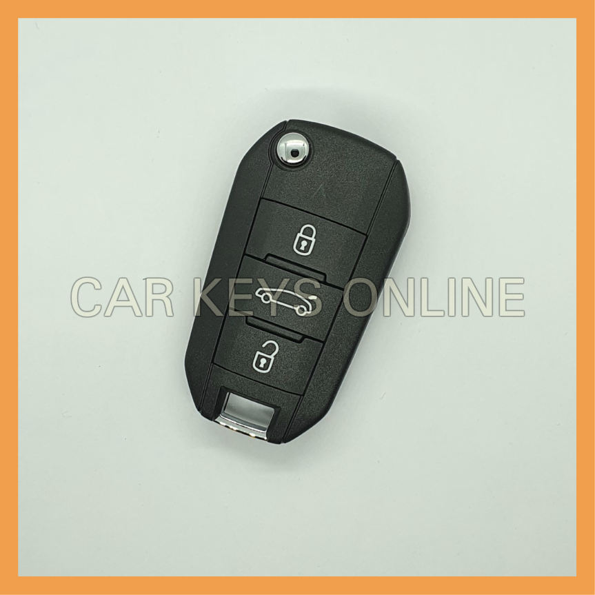 OEM Remote Key for Vauxhall Crossland X (39084013) White