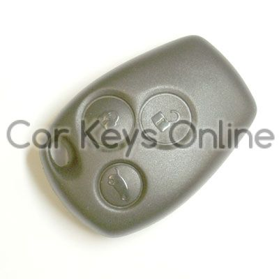Aftermarket 3 Button Remote for Renault Clio / Kangoo / Master / Modus