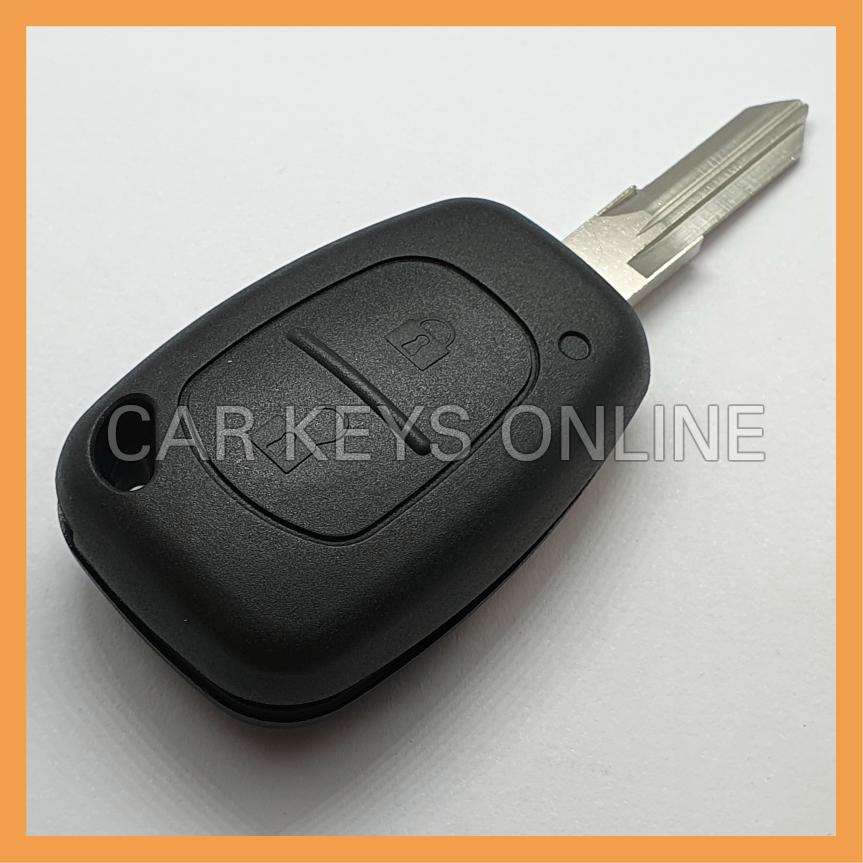 Aftermarket 2 Button Remote Key for Renault Kangoo
