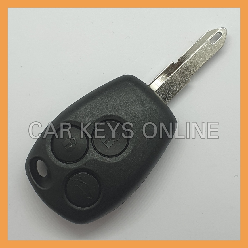 Aftermarket 3 Button Remote Key for Renault Trafic / Vivaro / Primastar