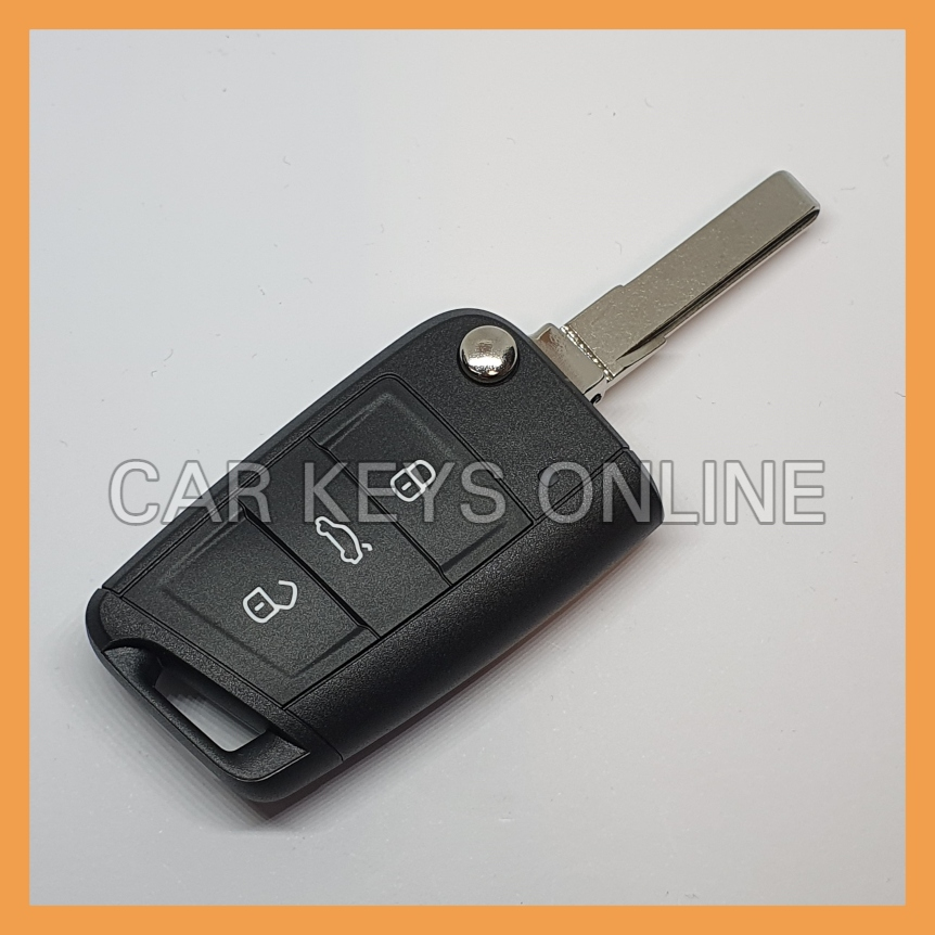 OEM Remote Key for Skoda Octavia (5E0 959 752 K ROH) - Without KESSY