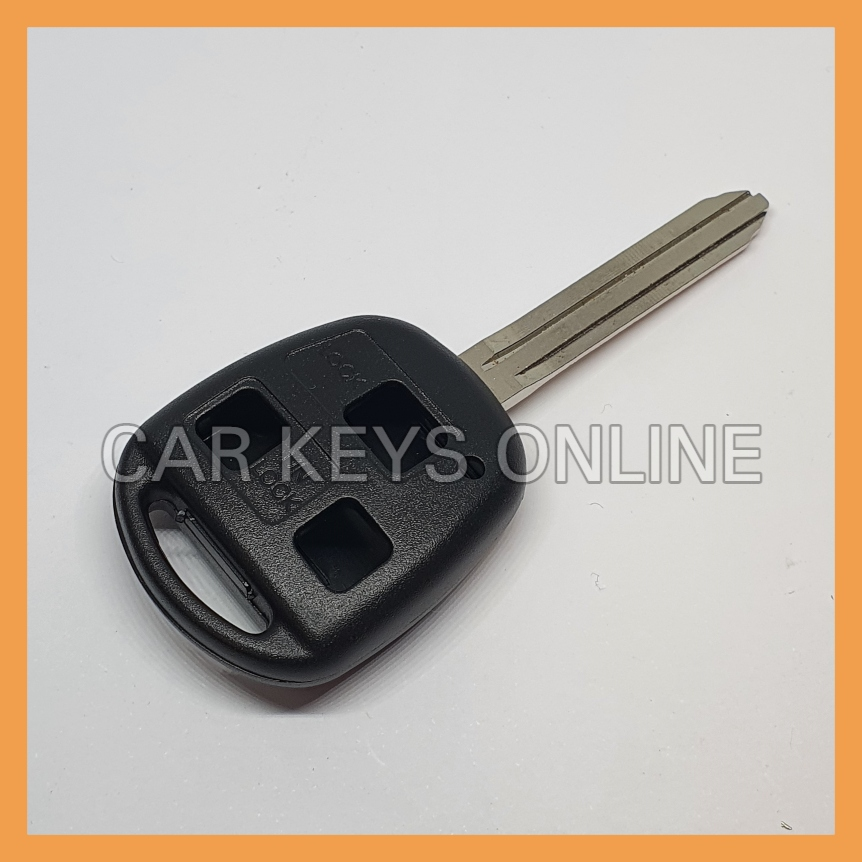 Aftermarket 3 Button Remote Key Case for Toyota (TOY43)