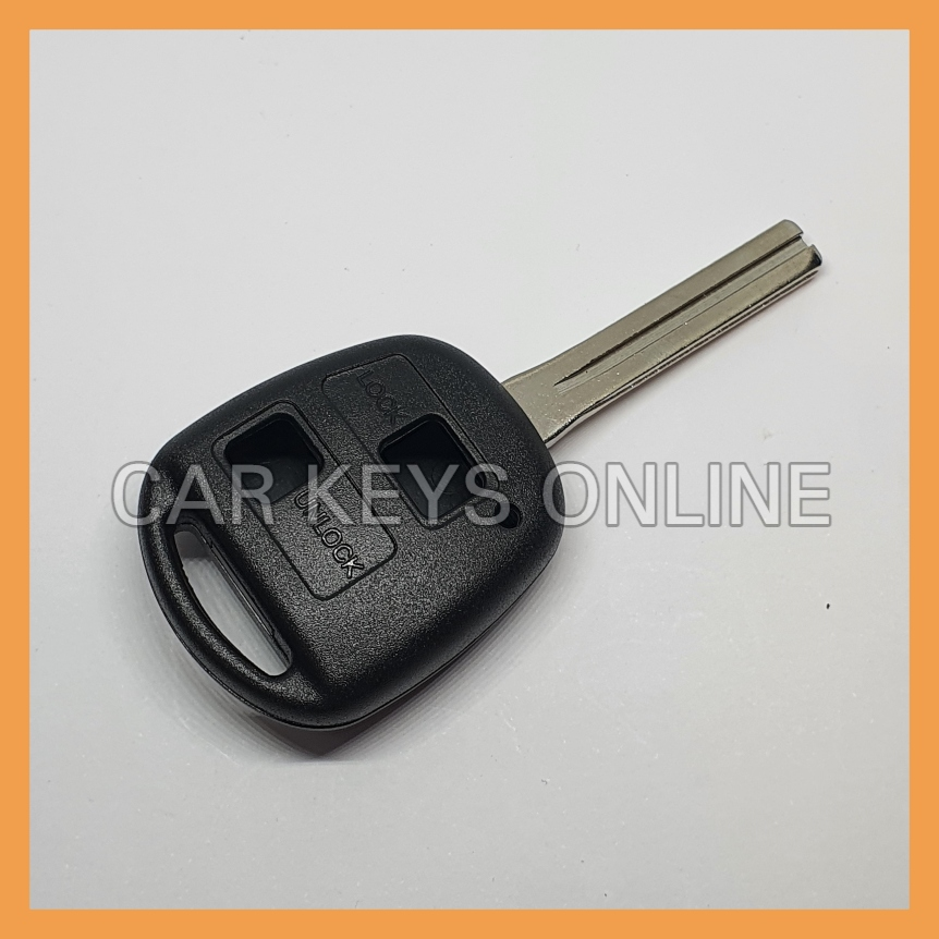 Aftermarket 2 Button Remote Key Case for Toyota - Old Style (TOY48)