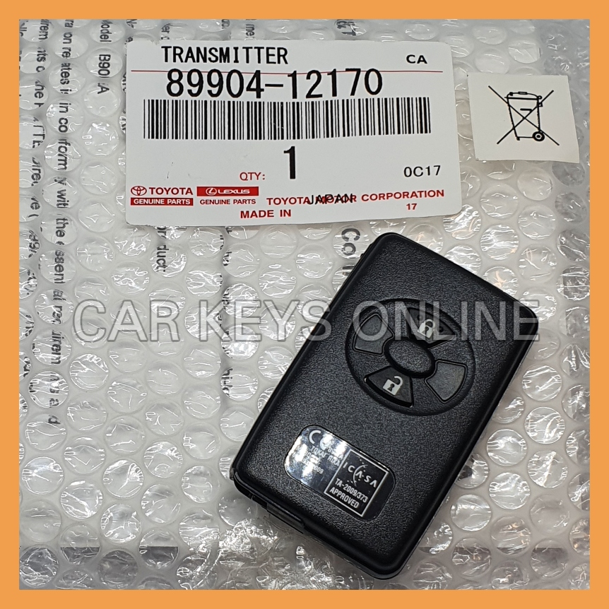 Genuine Toyota RAV4 / Urban Crusier Smart Remote (89904-12170)