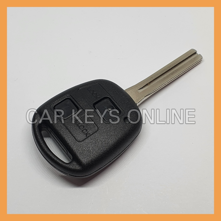 Aftermarket 2 Button Remote Key for Toyota Land Cruiser (89070-60781)