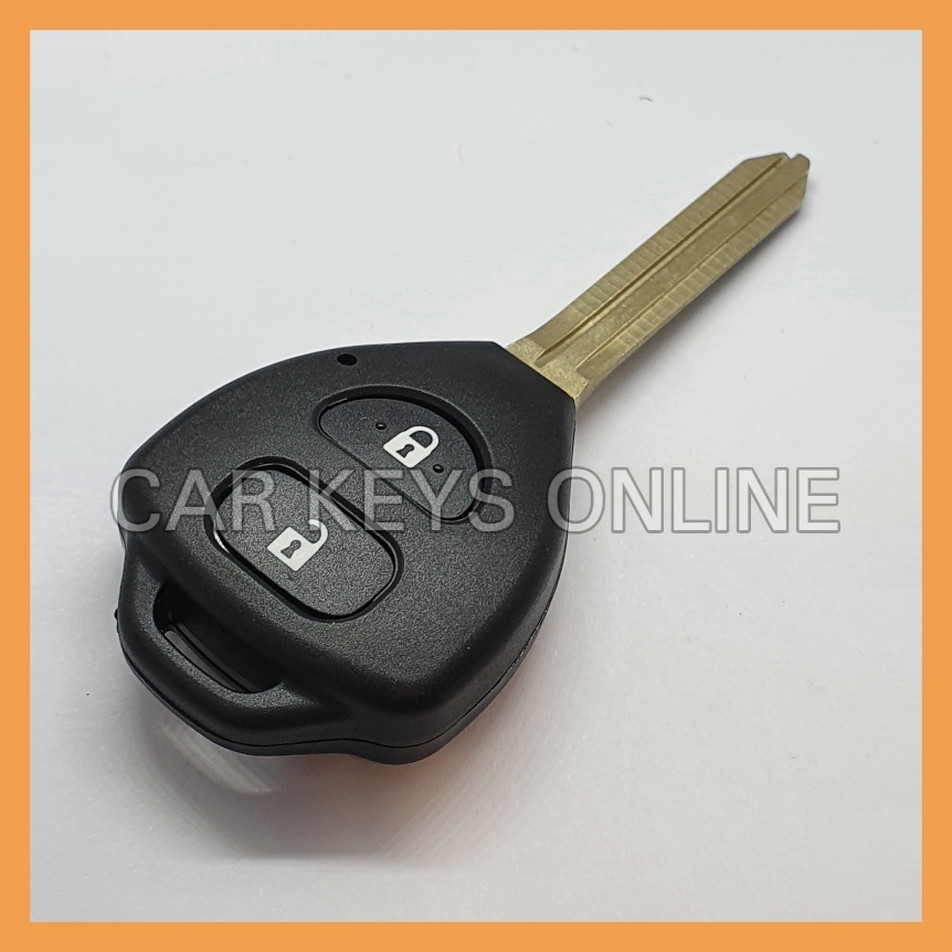 Aftermarket 2 Button Remote Key for Toyota Hilux (2010 + )