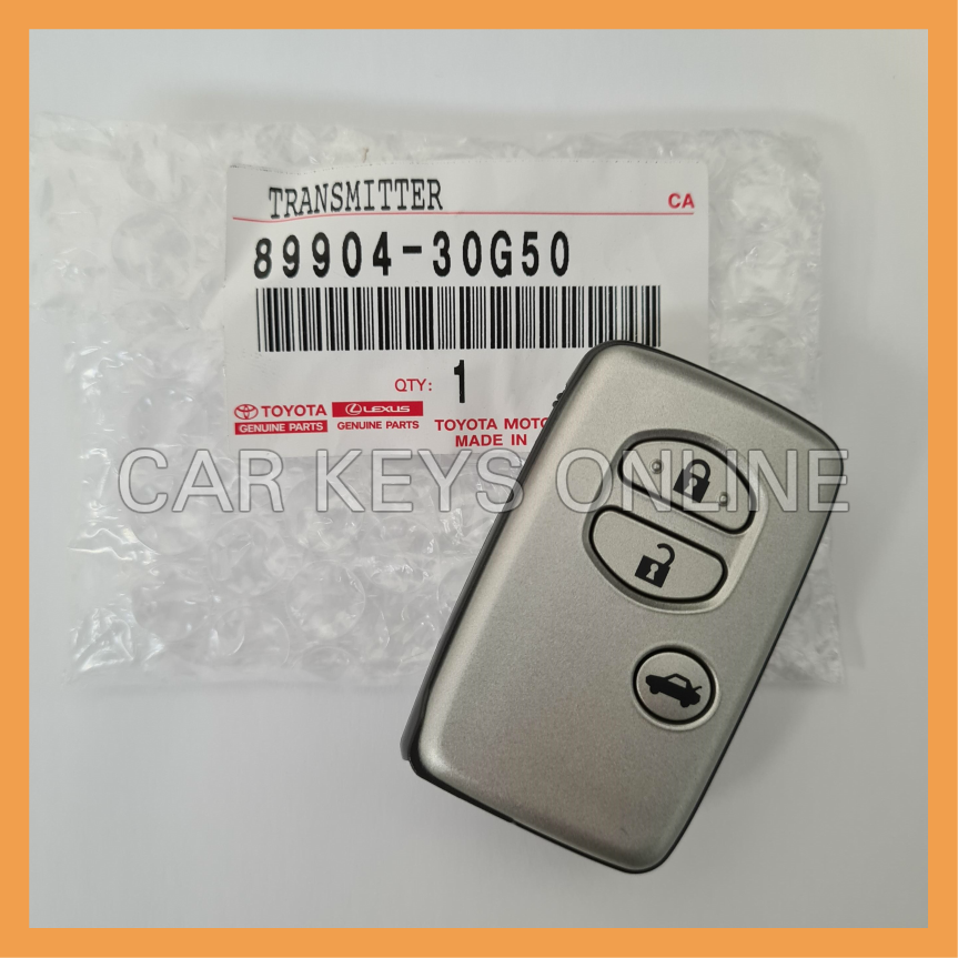 Genuine Toyota Crown Smart Remote - Japanese Models (89904-30G50)