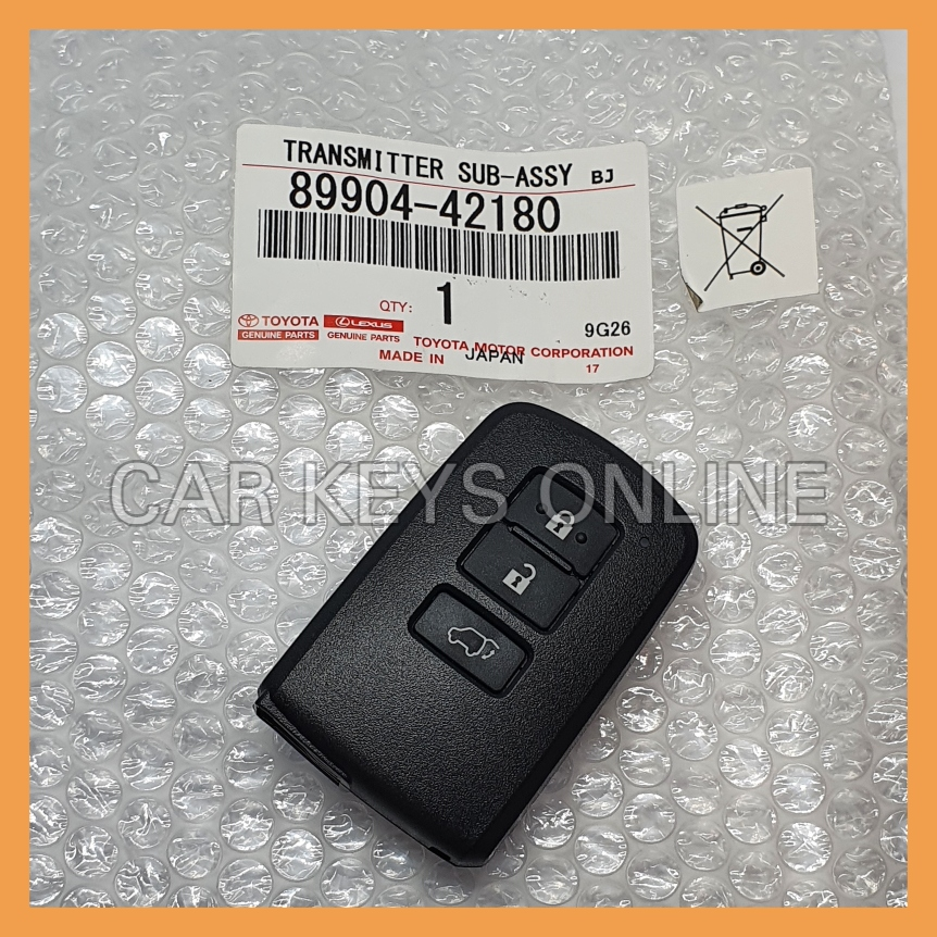 Genuine Toyota RAV4 Smart Remote (BA2EQ) (89904-42180)